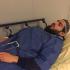 عکس  رامین توحیدیان خبر نگار ایرانی که پلیس فرانسه به او حمله کرد